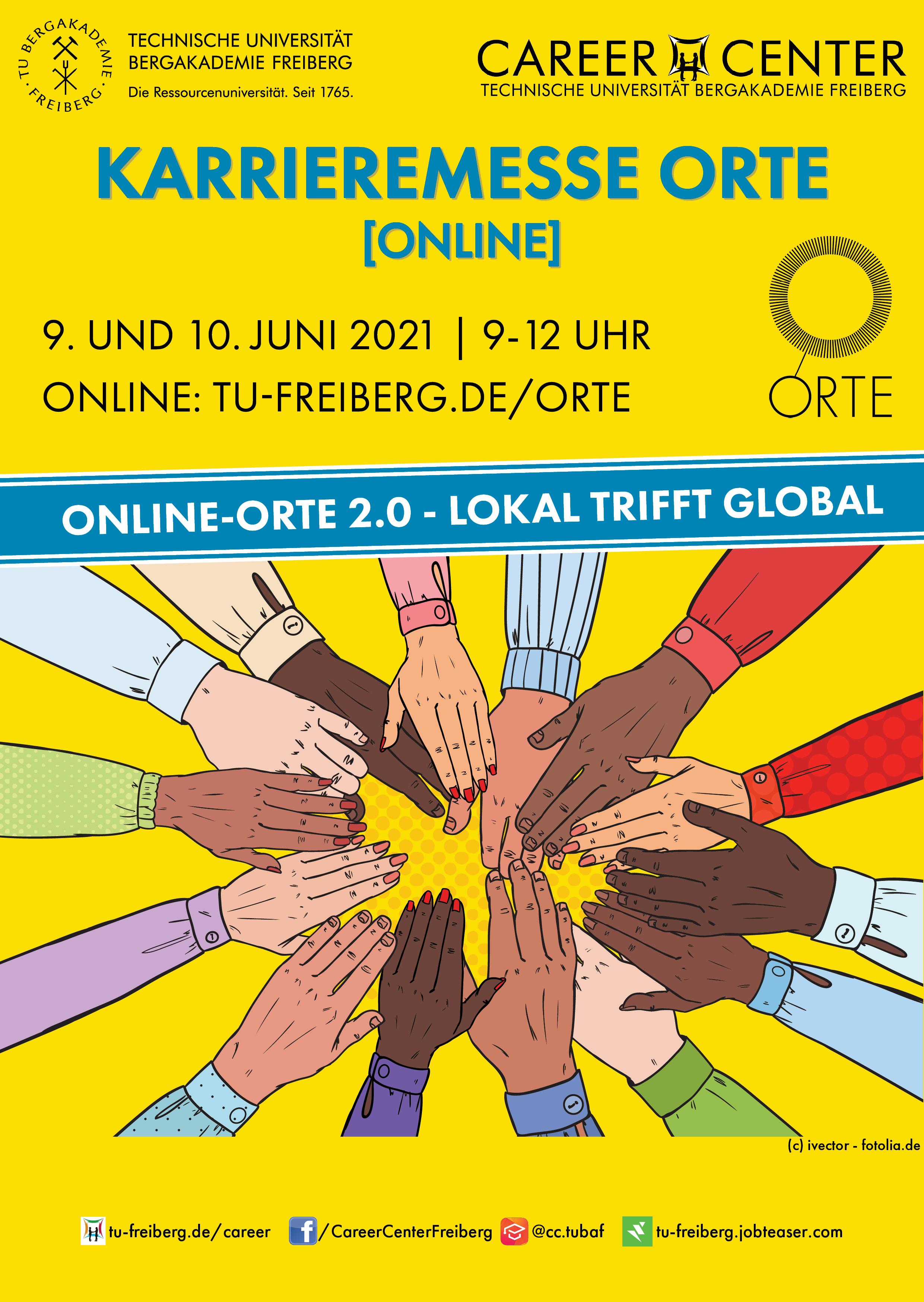 Plakat der Sommer-ORTE 2021
