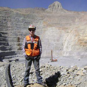 Daniel Sepúlveda, práctica profesional en Mina Andina de Codelco, Chile