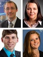 v.l.o.: Prof. Dr. Gero Frisch, Doris Geburek, Clemens Forman, Aline Bergert