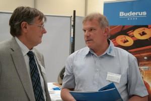 Kontakte zwischen Industrie und Universität - Prof. Bast im Gespräch