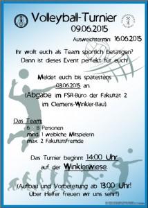 VB-Turnier Plakat