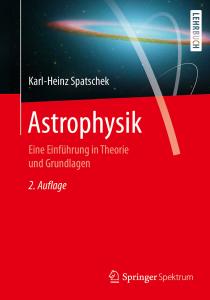 Buchcover: Astrophysik - Einführung in Theorie und Grundlagen; vom Springerverlag