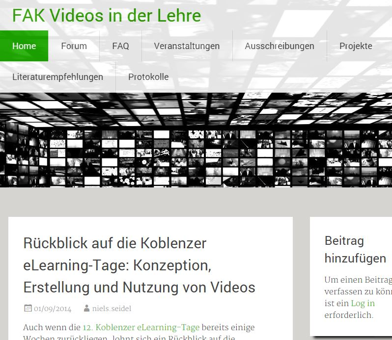 FAK Videos in der Lehre