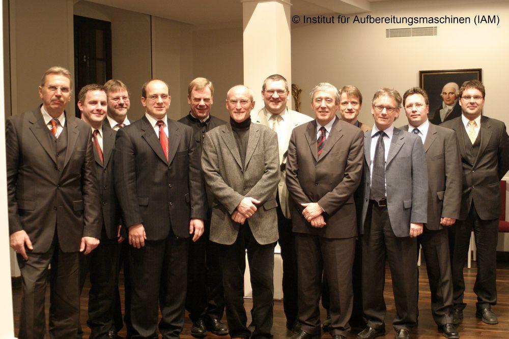 Gründungsmitglieder des Freundes- und Förderkreises des IAM