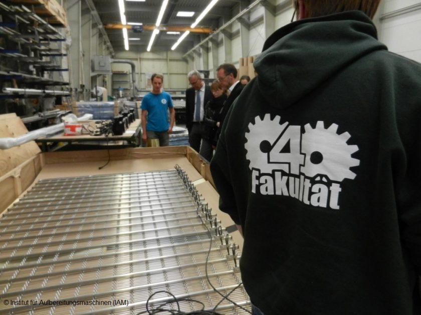 Haver & Boecker Oelde Drahtweberei Institut für Aufbereitungsmaschinen (IAM) Rohstoffe Recycling TU Bergakademie Freiberg Maschinenbau Studium