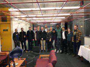 Studenten der TU Bergakademie Freiber besuchen Universität Winnipeg