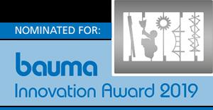 Logo Bauma Innovation Award 2019 nomination