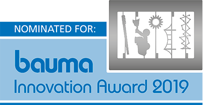 Logo Nomination Bauma Innovation Award 2019