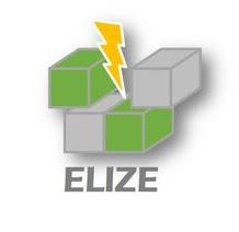 Logo ELIZE (Conti-E-Impulse Comminution) project