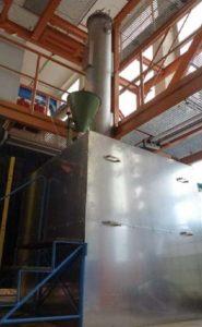 Laboranlage im Technikum des Institutes für Aufbereitungsmaschinen