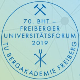 Logo of the 70th Freiberg University Forum 2019