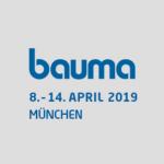 Logo der Messe Bauma 2019
