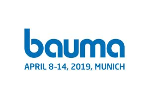 Logo of the trade fair Bauma 2019