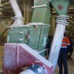 Prallmühlen zur Granulierung des getrockneten Salzes