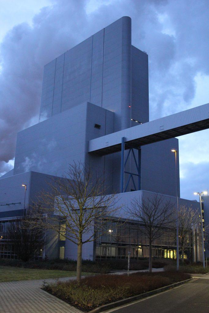 """Außenansicht Kraftwerk """"Boxberg"""""""