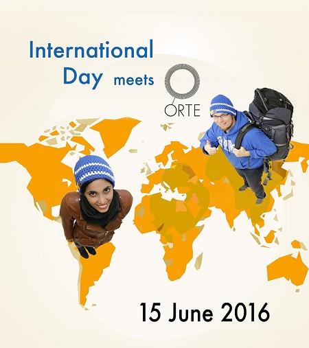 International Day meets ORTE - 15 June 2016