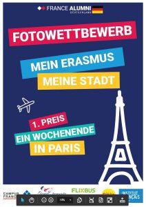 Fotowettbewerb Mein Erasmus, Meine Stadt, Poster