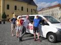 Vielen Dank an Andreas Schwinger von der Stadt Freiberg, der uns diesen schönen Kleinbus zur Verfügung stellte. Ohne diesen wäre die Reise für uns nicht möglich gewesen.