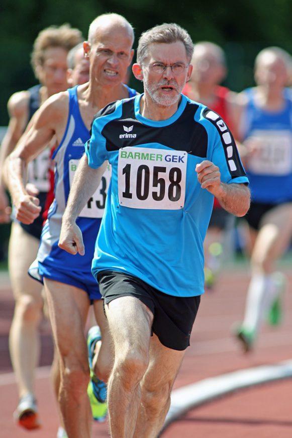 Gert Schmidt Deutscher Meister über 800 m