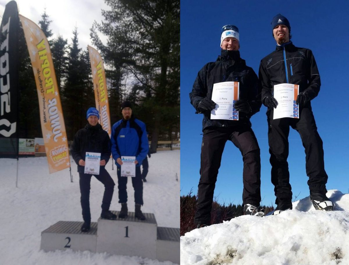 Erfolge bei Langlaufwettkämpfen im Erzgebirge