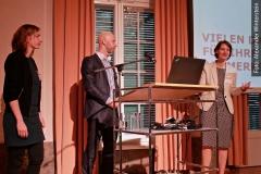 v.l. Fabiane Follert, Helge Fischer, JProf. Dr. Anne Lauber-Rönsberg