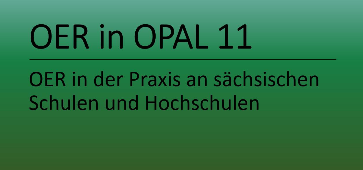 Freie Lerninhalte in OPAL