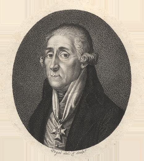 Bild: Friedrich Wilhelm Heinrich von Trebra (1740 – 1819) | © Universitätsbibliothek Freiberg