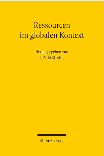Ressourcen im globalen Kontext