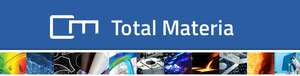 Total Materia – Neue Werkstoffdatenbank