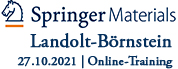 SpringerMaterials / Landolt-Börnstein Online-Training